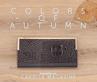 Autumn colours: shades and nuances for a romantic season